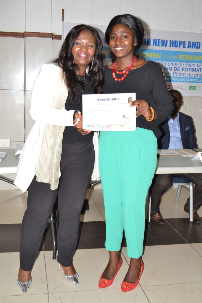 She can certificate